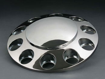 Chrome Plating - Truck Wheel Cover
